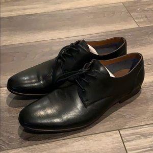 BRAND NEW Men's Black Leather Aldo Dress Shoes